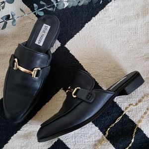Steve Madden | Macrae Leather Horse Bit Loafers 7